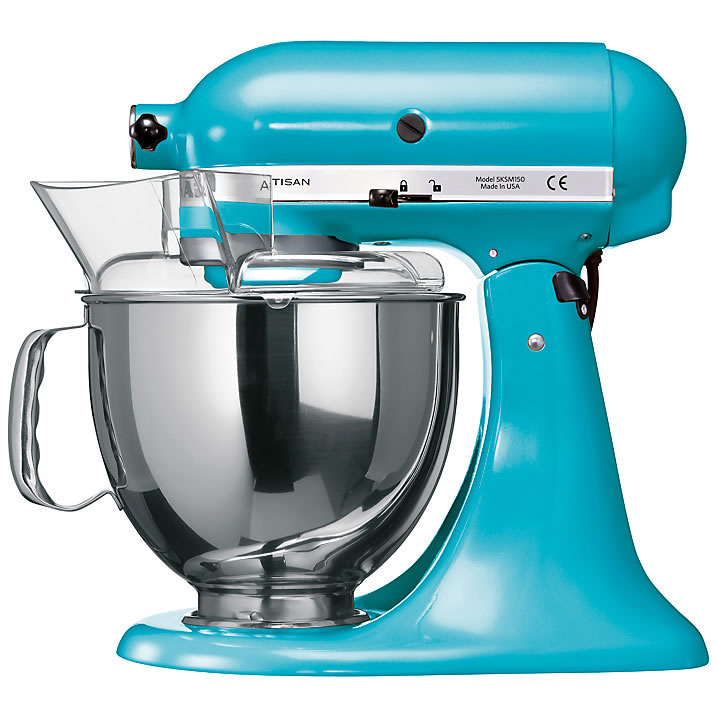 Kitchen Aid Artisan Mixer Crystal Blue Ksm150bcl